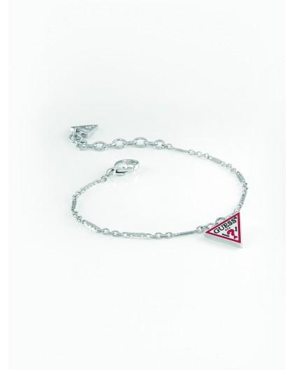 Bracelet Guess UBB29061-S triangle logo argenté