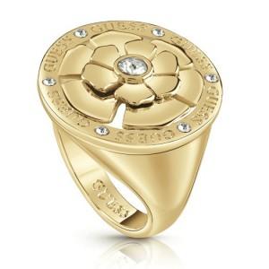 Bague Guess UBR79065 fleur doré taille 56