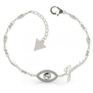 Bracelet Guess UBB29000-S oeil strass argenté
