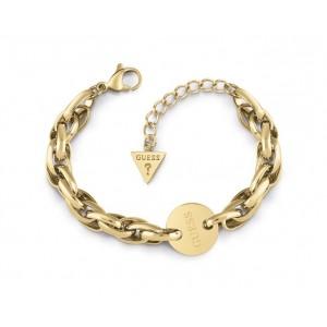 Bracelet Guess UBB29032-S médaille doré