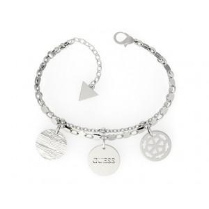 Bracelet Guess UBB29110-S médailles argentées