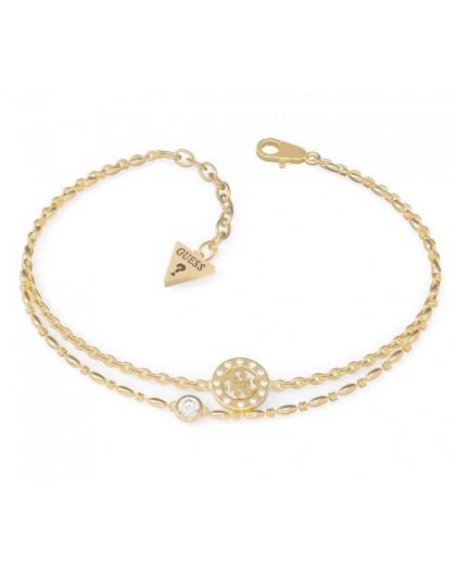 Bracelet Guess UBB79033-S strass doré