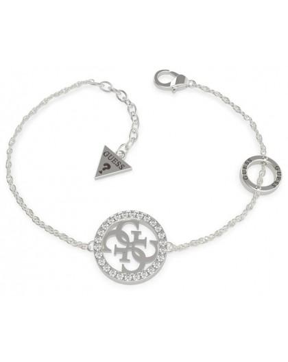 Bracelet Guess UBB79082-S logotypé argenté
