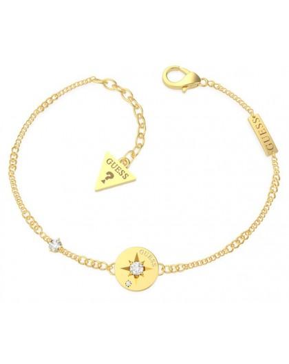 Bracelet Guess UBB20028-S étoile dorée strass