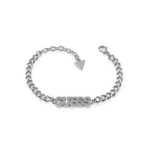 Bracelet Guess UBB20035-S logo strass argenté