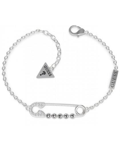 Bracelet Guess UBB20108-S épingle strass argenté