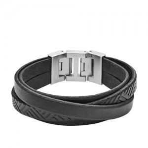 Bracelet Fossil Homme JF02998040 liens larges