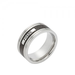 Bague Fossil homme JF00888040 taille 58
