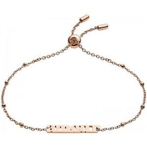 Bracelet Fossil femme JF03226791 amour rosé