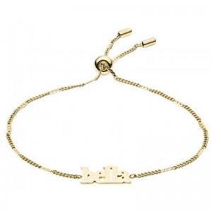 Bracelet Fossil femme JF03227710 bella doré