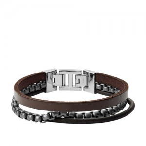 Bracelet Fossil Homme JF03319998 multi liens
