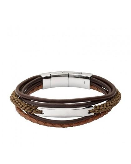Bracelet Fossil Homme JF02703040 multi liens