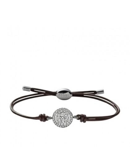 Bracelet Fossil femme JF00117040 rond strassé