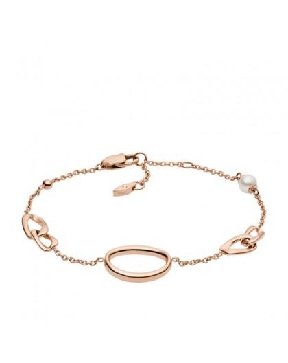 Bracelet Fossil femme JF03347791 rosé