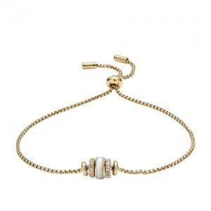 Bracelet Fossil JF02956710 femme doré