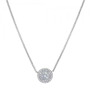 Collier Fossil JF03224040 femme nacre
