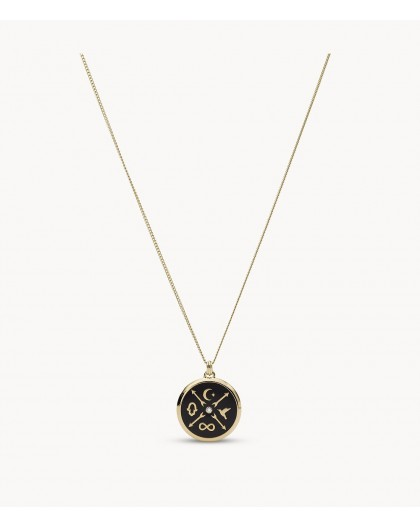 Collier Fossil JF03569710 femme little fortune