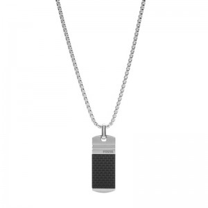 Collier Fossil JF03316040 homme acier