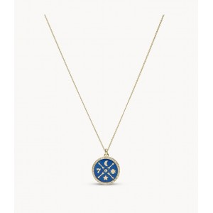 Collier Fossil JF03567710 femme little fortune