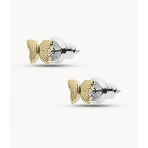Boucles oreilles Fossil JF03565710 papillons
