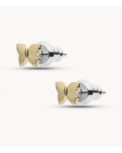 Boucles oreilles Fossil JF03565710 papillons