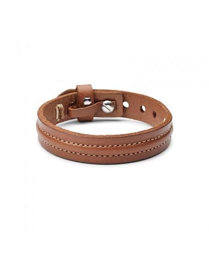 Bracelet Fossil Homme JA6882040 Cuir marron