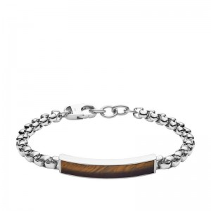 Bracelet Fossil JF03447040 homme acier