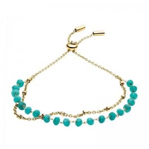 Bracelet Fossil JF03418710 femme turquoise