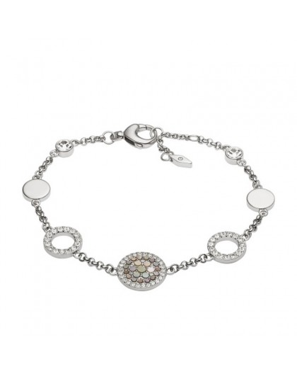 Bracelet Fossil JF02311040 femme nacre