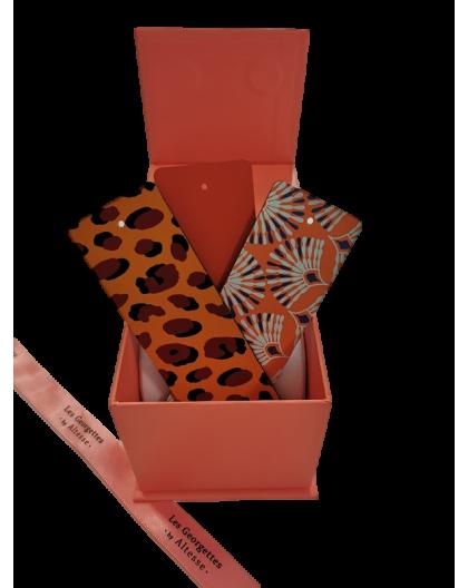 Box Orange edition Cuirs Les Georgettes 40mm