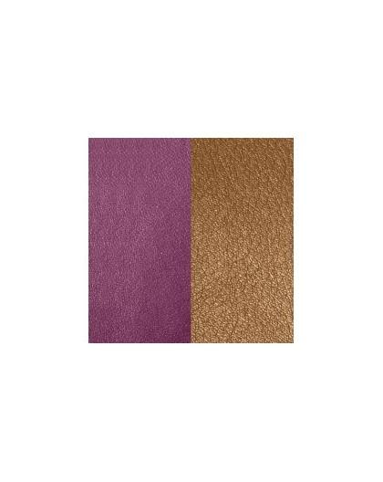 Cuir Georgettes 25mm Medium Violet/Brun