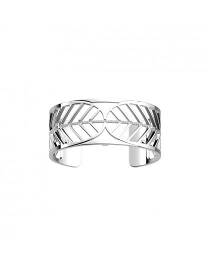 Bracelet Georgette Précieuse Faucon 25mm argenté