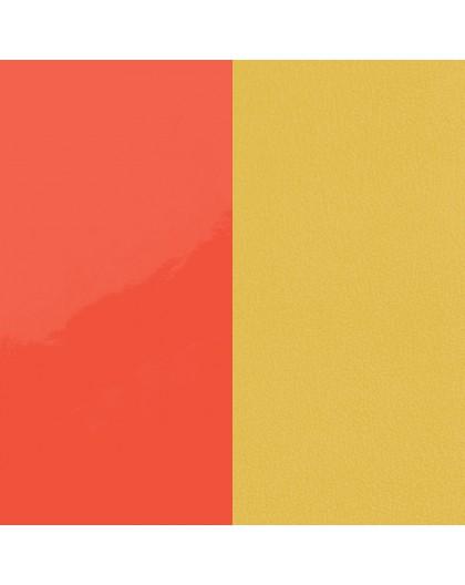 Cuir Georgettes 25mm Medium Neon orange/Canarie