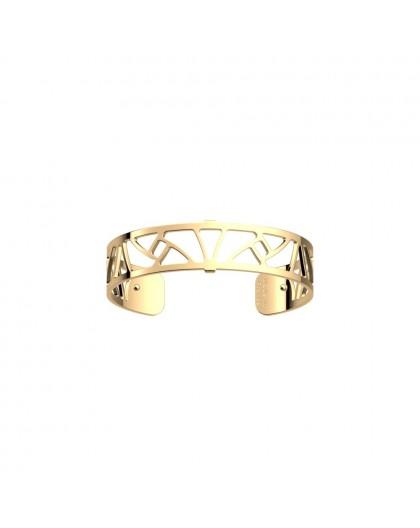 Bracelet Les Georgettes Papyrus doré 14mm