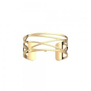 Bracelet Les Georgettes Dunes doré 25mm