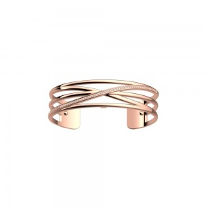 Bracelet Georgette Précieuse Louxor 14mm rosé