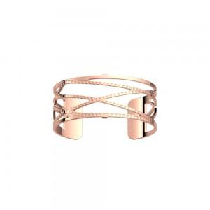 Bracelet Les Georgettes Dunes rosé 25mm