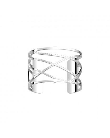 Bracelet Les Georgettes Dunes argenté 40mm
