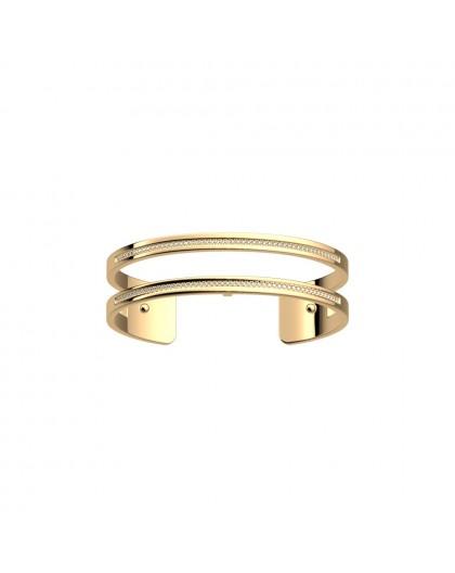Bracelet Georgette Précieuse Pure 14mm doré