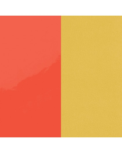 Cuir Georgettes 14mm Small Neon orange/Canaris