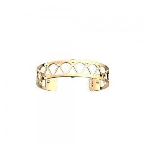 Bracelet Les Georgettes Coeur 14mm doré
