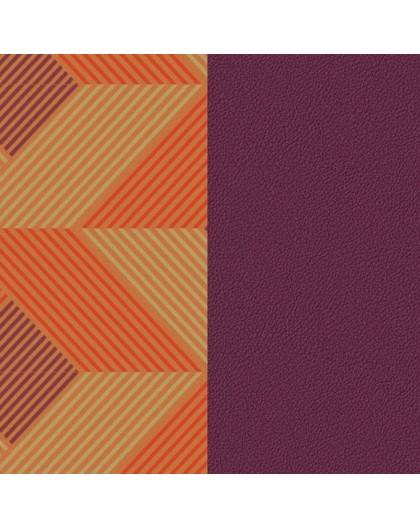 Cuir Georgettes 25mm Medium Rythme/Violet