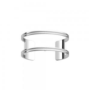 Bracelet Les Georgettes Pure argenté 25mm