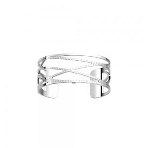 Bracelet Les Georgettes Dunes argenté 25mm