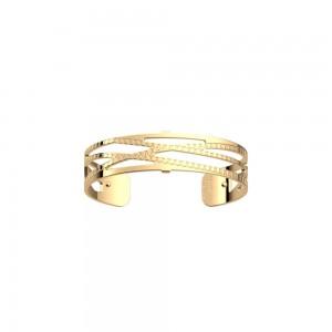 Bracelet Les Georgettes Dunes doré 14mm