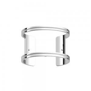 Bracelet Les Georgettes Pure argenté 40mm