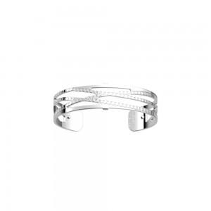 Bracelet Les Georgettes Dunes argenté 14mm