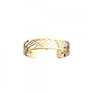 Bracelet Les Georgettes Zebrures 14mm doré