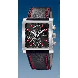 Montre Festina F20424/8 chrono rectangulaire