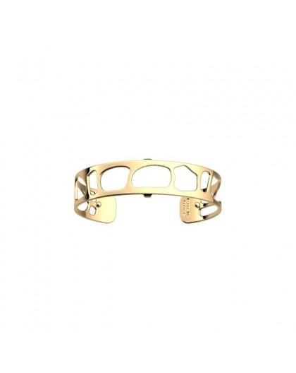 Bracelet Les Georgettes Léopard 14mm doré